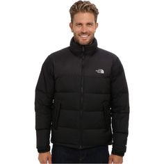 $240.00 The North Face Nuptse Jacket (TNF Black/TNF Black) Men's Coat