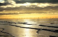 Liverpool Bay wind farm - copyright Wayne Beesley, joint winner of Friends of the Earth's Clean British Energy photo competition with Good Energy and Ecotricity.