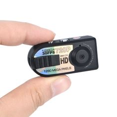 Wholesale - Smallest HD Q5 Thumb DV Camcorder Micro Camera Digital 720P DVR Spy for Webcam Video Audio Recorder Drone Outdoor Sport Hiking Wholesale Price(FOB) : 5.73USD/PC