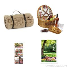 Decorating Ideas With Tweedmill Blanket 2 Person Picnic Basket Wall Art And Outside Garden Decor From March 2016 #home #decor