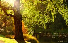 call unto Me - God says :)