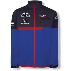 e10caee41 Red Bull Toro Rosso OTL Chaqueta Softshell Azul Unisexo Chaqueta Impermeable  STR F1 2019 Original Ropa