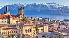 Lausanne : médaille d'or de la douceur de vivre