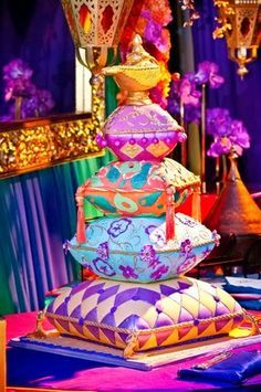 Exotic, Persian, Morrocan, Arabian NIghts themed party decor