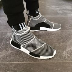 new product 16715 af7be rhubarbes Adidas Originals NMD City Sock via Sneaker-Zimmer More sneakers  here.
