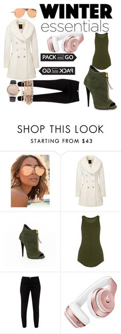 """BYE"" by jsable456 ❤ liked on Polyvore featuring Quay, Haider Ackermann, Ted Baker, Beats by Dr. Dre and Jessica Carlyle"