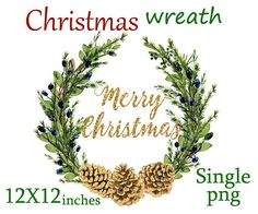 Christmas wreath clipart christmas clipart wreath clipart