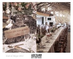 A country rustic wedding