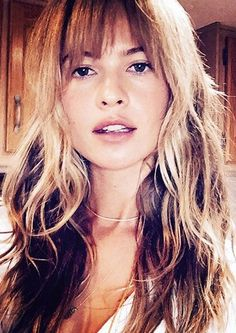 Behati Prinsloo got gorgeous bangs. 'Bang...!!!' was how she captioned the photo on instagram.