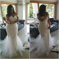 Plus size fabulous wedding gown from Studio Levana 2018