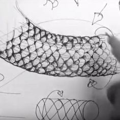 Here is a great video that gives tips on drawing realistic scales for reptilian forms of snakes, dragons, alligators, crocodiles or lizards.