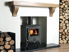 Nice floating mantle shelf and log store.                                                                                                                                                     More