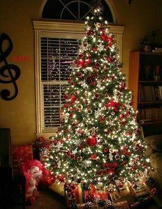 Imagem de christmas, christmas tree, and light
