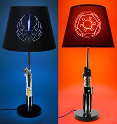 lightsaber lamps!