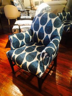 The Oxford. LOVE this chair!