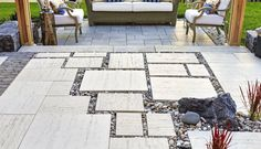Making sure your pavers and other products stay clean over time is important. These 3 Techo-Bloc stain removal tricks will make the process quick and easy! Circular Lawn, Outdoor Living, Outdoor Decor, Outdoor Ideas, Outdoor Spaces, Concrete Pavers, Patio Plants, Patio Design, Backyard Patio
