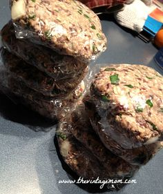 An attempt to incorporate more mushrooms and meatless meals into our diet. Success with this Black Bean Mushroom Burger!