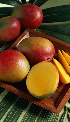 mangos - provides us with great enzymes and other goodies.