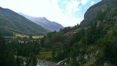 The view @ Cascate de Lillaz, Italy