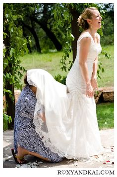 we all know what boundaries a womans imagination can reach and how dexterous we can be wedding dress