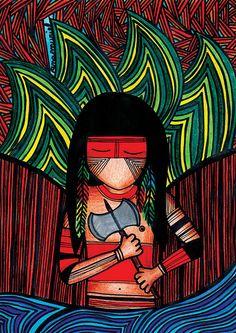 Indiozinho caboclo de Xangô by anamuriel, via Flickr