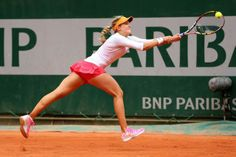 Eugenie Bouchard during her Match on Day4 at Roland Garros May 28-2014 #WTA #Bouchard #RolandGarros