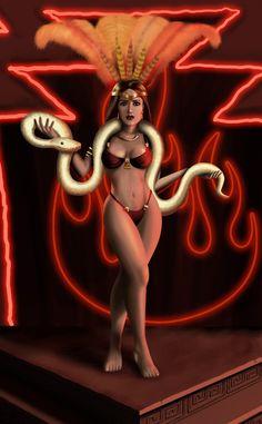 Satanico Pandemonium by Fantitlan on DeviantArt Salma Hayek Body, Salma Hayek Bikini, Salma Hayek Photos, Selma Hayek, Eiza Gonzalez, Dusk Till Dawn, Foto Pose, Cinema, Fantasy Girl