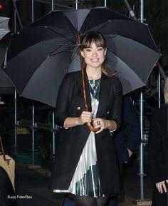 Dress for the Rain Celeb-Style - #OliviaWilde