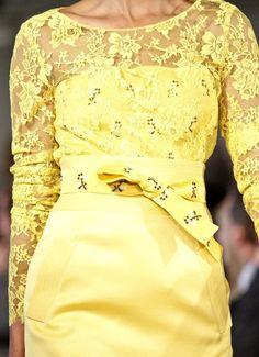 she-loves-fashion:    SHE LOVES FASHION:  Oscar de la Renta - New York Fashion Week 2012