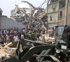 Over 70 killed, hundreds injured in Bangladesh factory building collapse