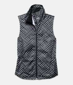 Women's Under Armour Storm Layered Vest. Not wind, rain or dark can keep you from getting out to run. UA Storm technology repels water but stays soft & breathable for superior comfort. Reflective logos & details deliver greater visibility on low-light runs