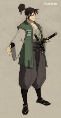 Samurai Reincarnation by philbourassa.deviantart.com on @deviantART