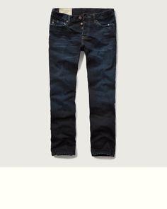 Mens Slim Straight Jeans   Mens Jeans   Abercrombie.com