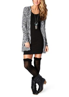 Space Dyed Cardi Duster | Wraps & Cardigans  | rue21