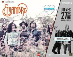 Enjambre | Monoplasma | Mitre Music | SISSTER Este Jueves 27 de Julio en The Music Box 8pm | 18