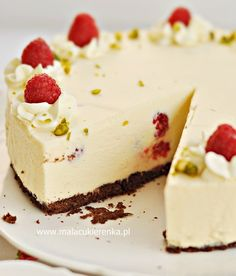 Chocolates, Sweet Recipes, Cake Recipes, Yummy Food, Tasty, Polish Recipes, Polish Food, Cheesecakes, Food And Drink