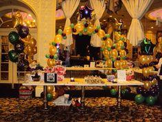 Mardi Gras Balloon Decor - Nola Party Boutique