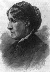 Lousia May Alcott, 1888. Library of Congress.