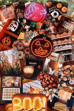 (notitle) - My Happy Halloween - Halloween Baskets, Halloween Snacks, Halloween Decorations, Happy Halloween, Spooky Halloween, Halloween Movies, Halloween Wallpaper, Fall Wallpaper, Halloween Care Packages