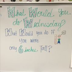 Wednesday morning meeting prompt- could be used multiple times Daily Writing Prompts, Teaching Writing, Writing Activities, Classroom Activities, Teaching Themes, Morning Work, Morning Meetings, Morning Meeting Board, Morning Meeting Activities