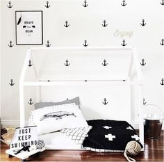 via the boo and the boy: kids' rooms on instagram by onetinytribe