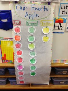 Fun apple activities for preschoolers. There are crafts, science experiments, and math activities for fall apple fun. Combine books with math and science. Preschool Apple Theme, Teaching Kindergarten, Preschool Classroom, Apple Activities Kindergarten, Kindergarten Apples, Seeds Preschool, Preschool Apples, Classroom Rewards, Rhyming Activities