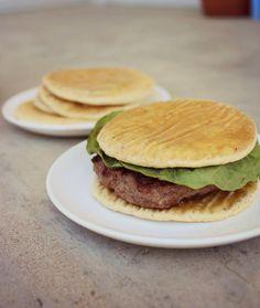 The Primitive Homemaker: Simple Sandwich Rounds (AIP)...  substitute arrowroot for tapioca flour