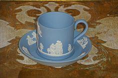 Kaffekopp i Jasperware från Wedgwood No 2