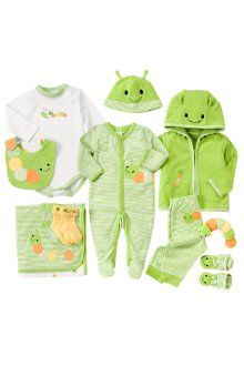 Cute Layette for newborns when you dont know if your having a boy or a girl! From Gymboree.