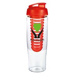H2O Tempo® Sports Bottle   The Tempo Sports Bottle is destined to be a real winner when it comes to promotional sports bottles. With its slimline, modern design and vibrant translucent range, any recipients will love this gift! Design your perfect bottle with the choice of a domed or flip lid. When it comes to colours, you can choose a matching colour pallette or mix and match to suit your brand! BPA free, 700ml. Why not add extra value to your branded bottle, with our Shaker Ball and Fruit…