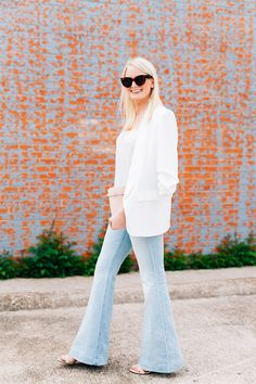 Stella McCartney Flared Jeans | The Style Scribe