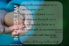 In CHRIST i am saved