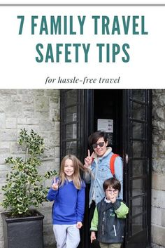 Family Travel Safety Tips Family Travel Safety Tips 7 family travel safety tips for hassle-free travel Packing Tips For Travel, Travel Advice, Backpacking Tips, Travel Hacks, Travel Ideas, Travel With Kids, Family Travel, Family Trips, All Family