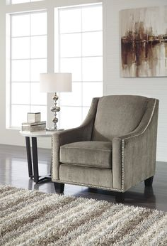 The Donnell Accent Chair by Ashley Furniture 2680021 Affordable Furniture Stores, Top Furniture Stores, Furniture Sale, Cheap Furniture, Furniture Ideas, Ashley Furniture Sofas, Parks Furniture, Cheap Office Chairs, Best Office Chair